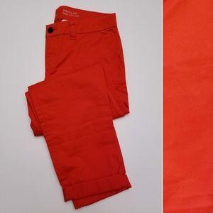 GAP Broken-In Straight Khakis, Bright Red, 2